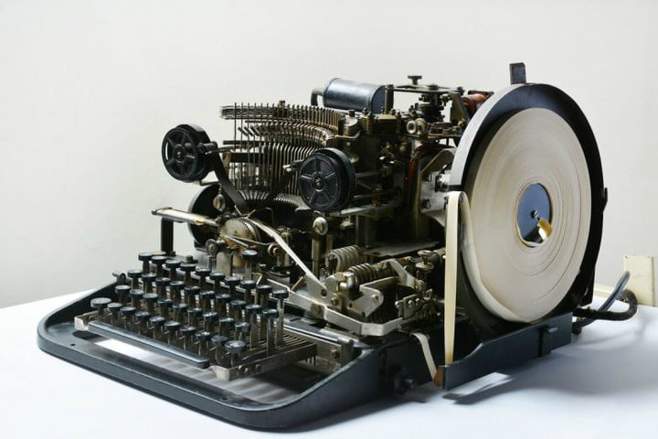 rare nazi coding device discovered on ebay gets snapped up for a mere 14 lorenz teleprinter nmc
