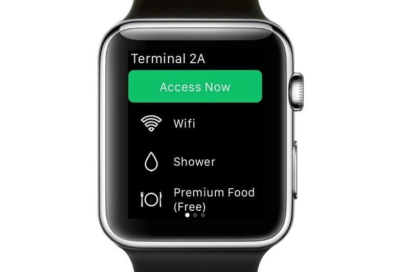 loungebuddy booking now apps on apple watch ease the stress of travel frontblack lounge detail