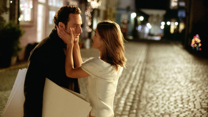 A scene from Love Actually.