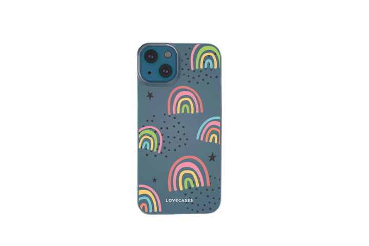 LoveCases Abstract Rainbow Gel Case.