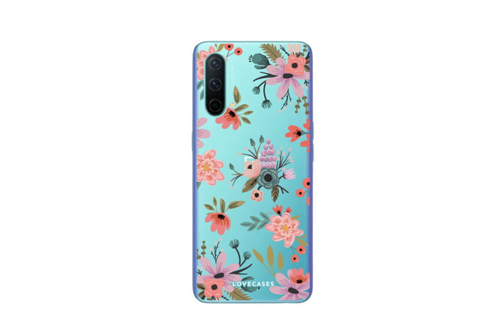 Funda de gel floral LoveCases Ditsy para OnePlus Nord CE 5G