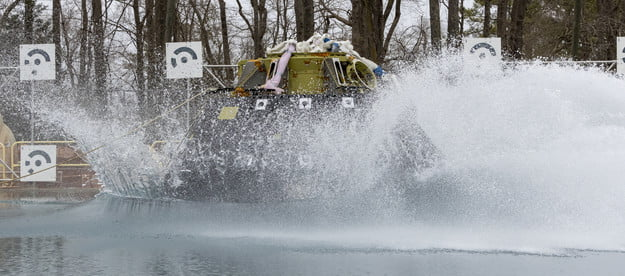 Engineers at NASA's Langley Research Center in Hampton, Virginia begin a new series of four water impact drop tests with a test version of the capsule for NASA's Orion spacecraft to better understand what Orion and its crew may experience when landing in the Pacific Ocean after Artemis missions to the Moon.
