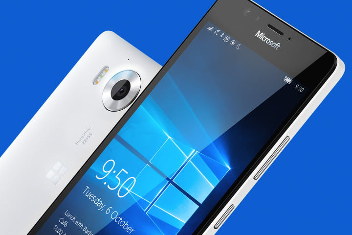 windows 10 for mobile news version 1452682105 lumia 950 950xl front rear