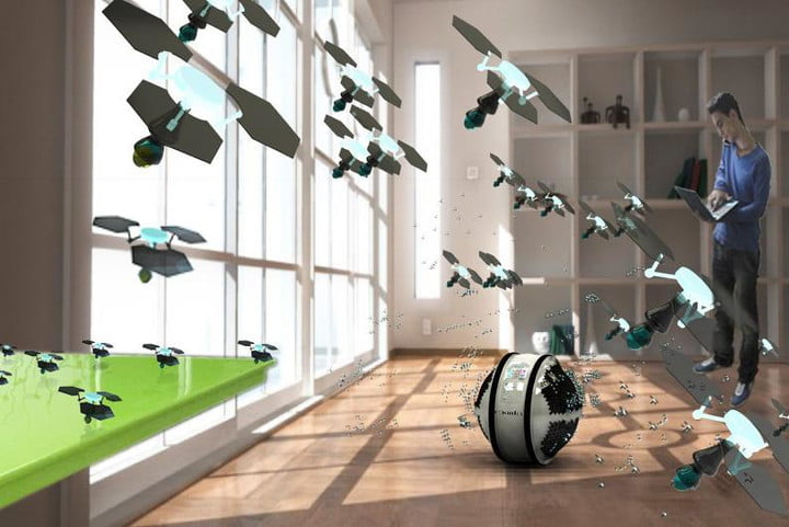 awesome tech you cant buy yet october 25 2013 mab sphere robotic house cleaning swarm