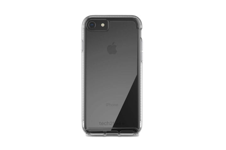 Tech21 Pure Clear Case for iPhone SE (2020).