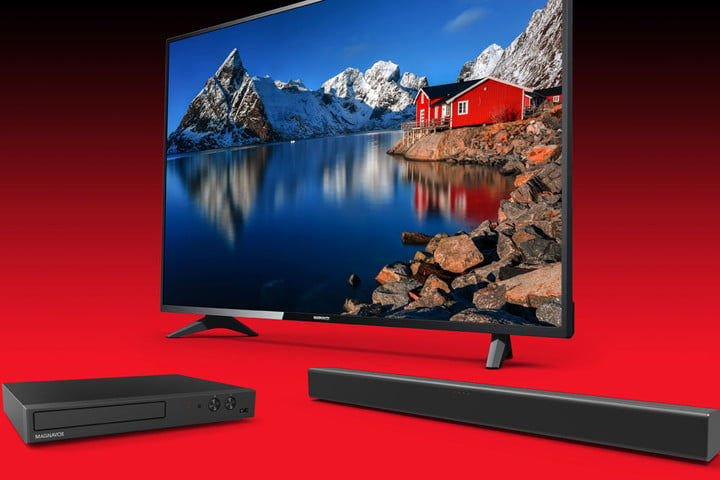 Magnavox 3-in-1 home theater