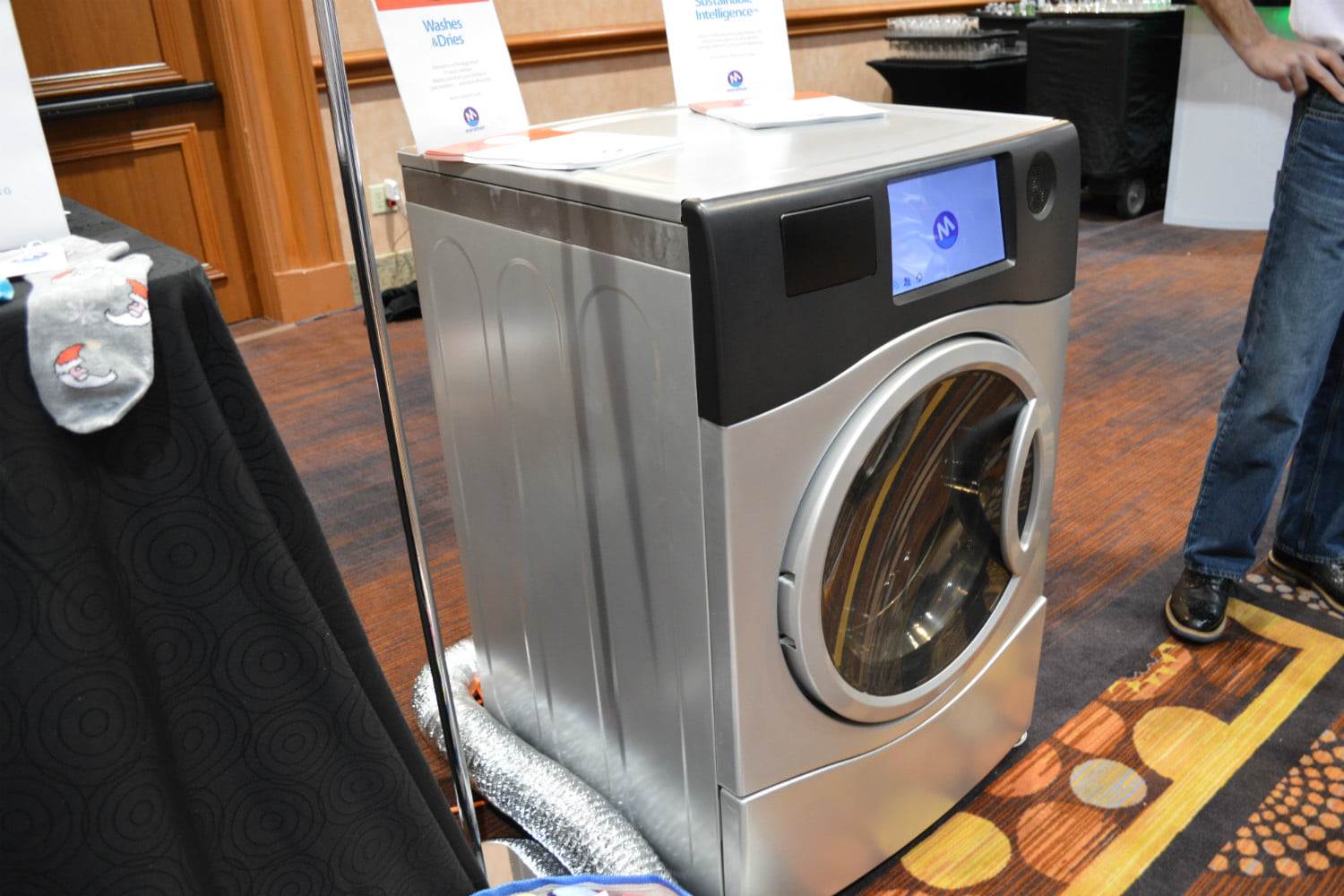 the marathon laundry machine is a washer and dryer in one 2