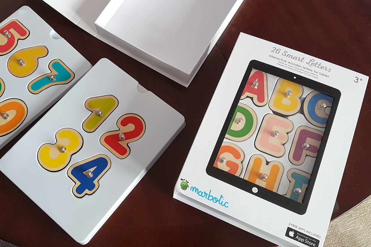 Marbotic Smart Letters and Numbers