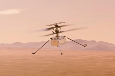 NASA's Ingenuity helicopter has now flown a mile across Mars