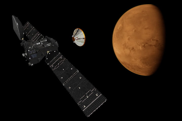 esa exoras scientific instruments data mars tgo lander