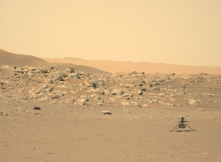 NASA's Mars Perseverance rover acquired this image using its Left Mastcam-Z Camera. Mastcam-Z is a pair of cameras located high on the rover's mast. This image was acquired on Jun. 15, 2021 (Sol 114).