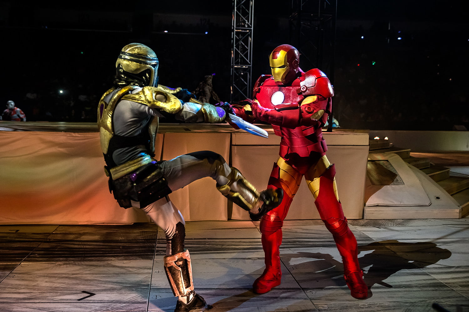 marvel universe live circus age of heroes on stage 9