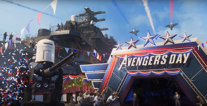 Marvel's avengers crystal dynamics san diego comic con 2019 gameplay update