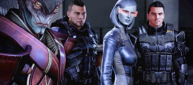 Characters in Mass Effect.