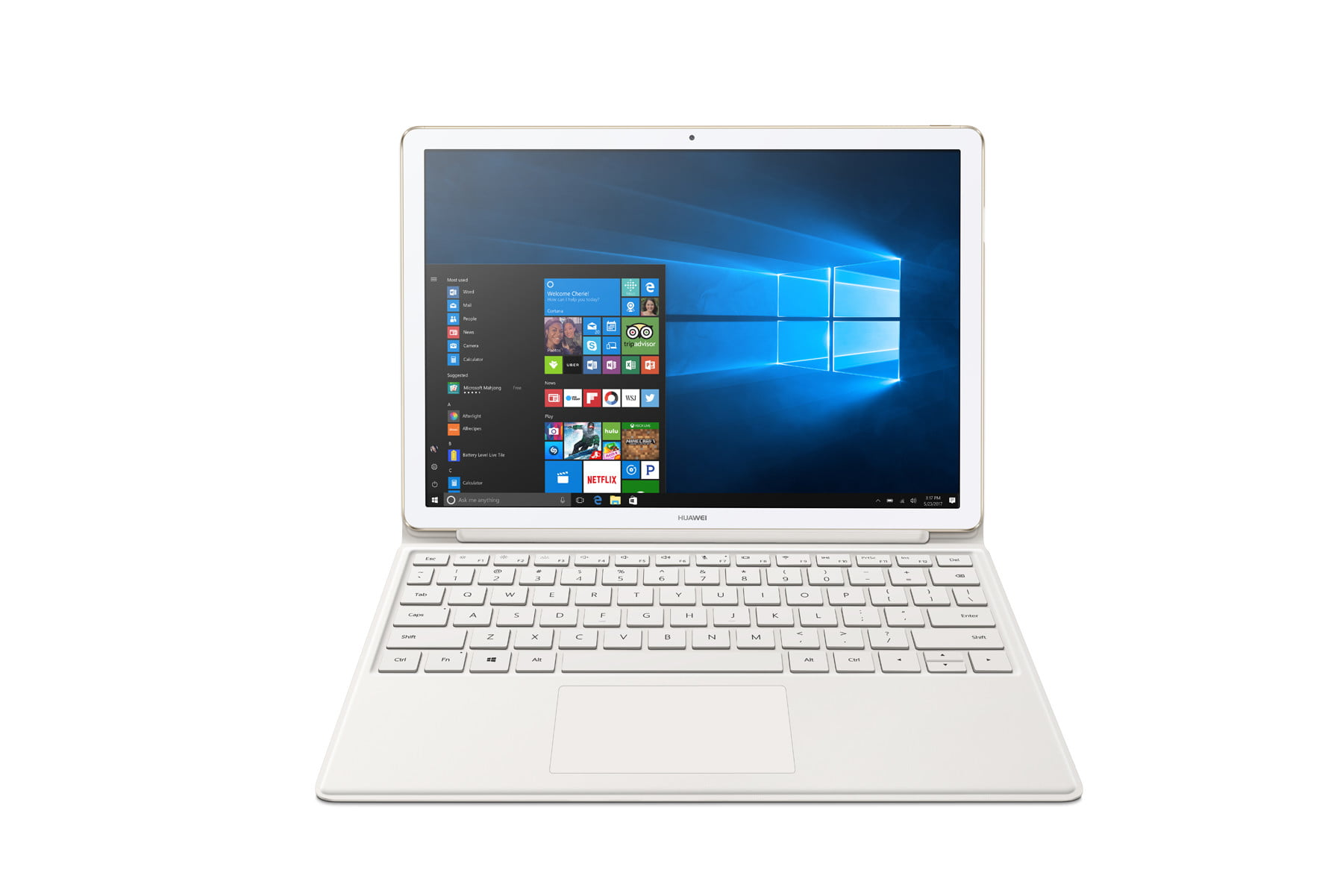 huawei releases pricing availability matebook x d e gold brown 20170413  5