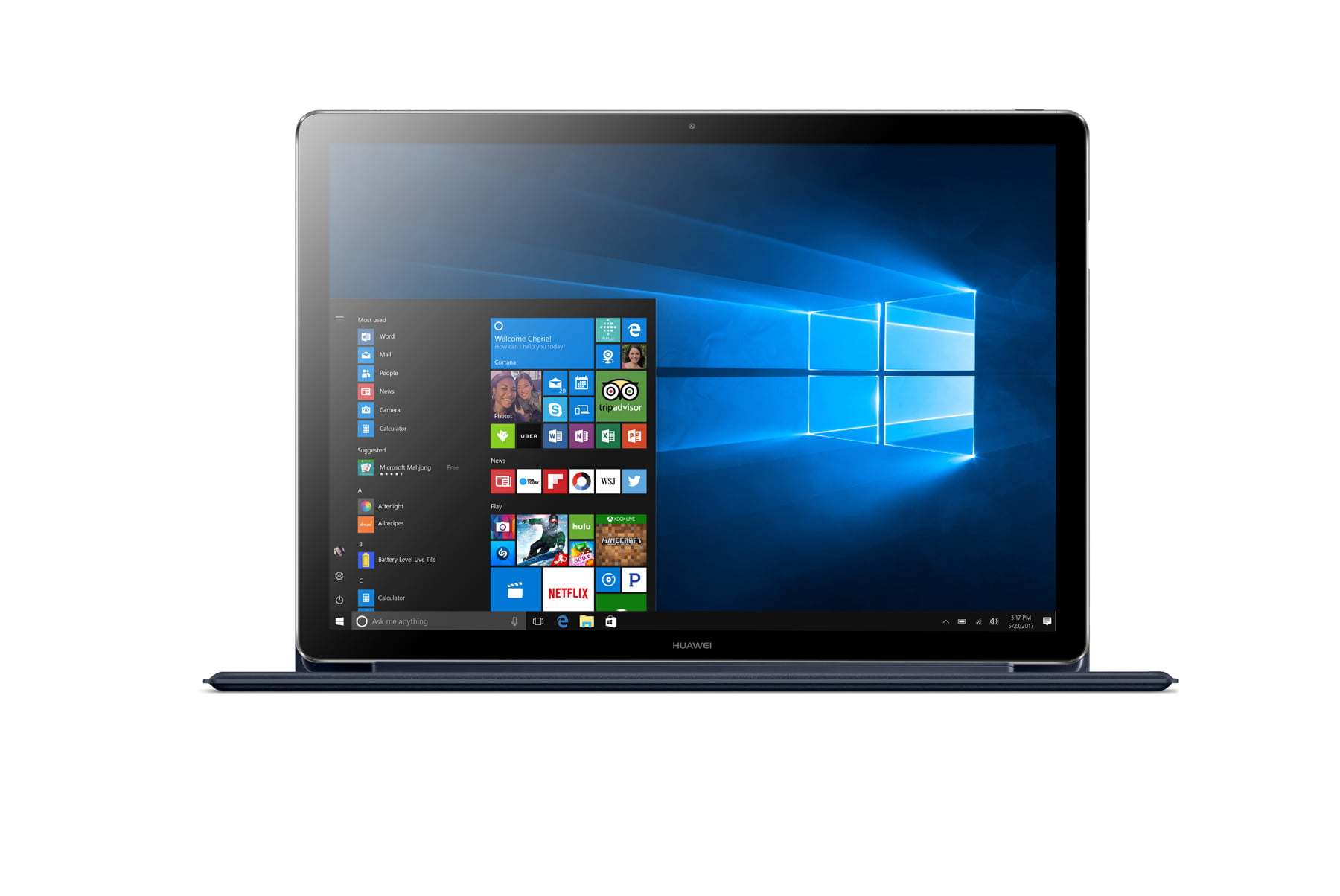 huawei releases pricing availability matebook x d e grey blue 20170413  5