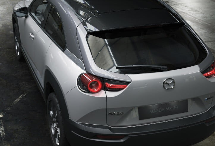 first mazda electric car coming to the 2019 tokyo auto show mx 30 official 10