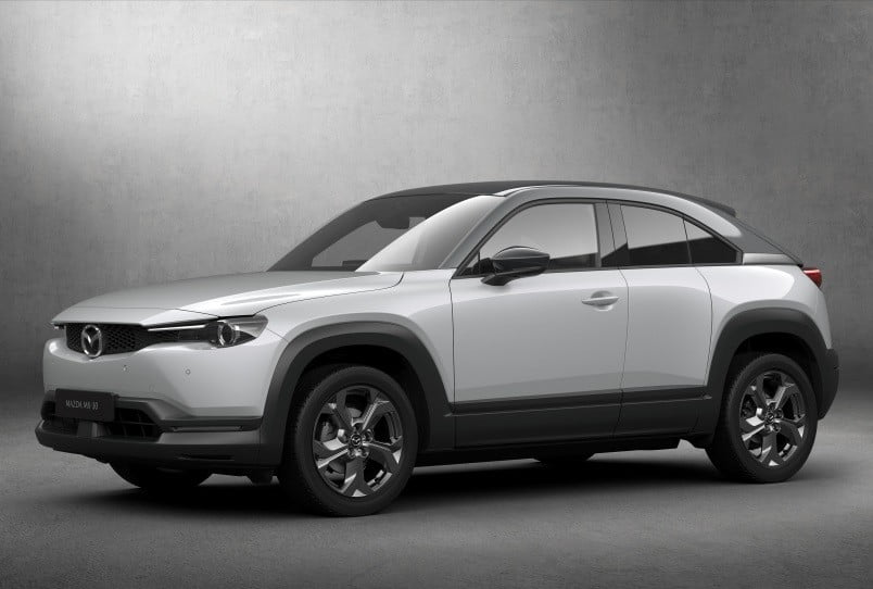 first mazda electric car coming to the 2019 tokyo auto show mx 30 official 13