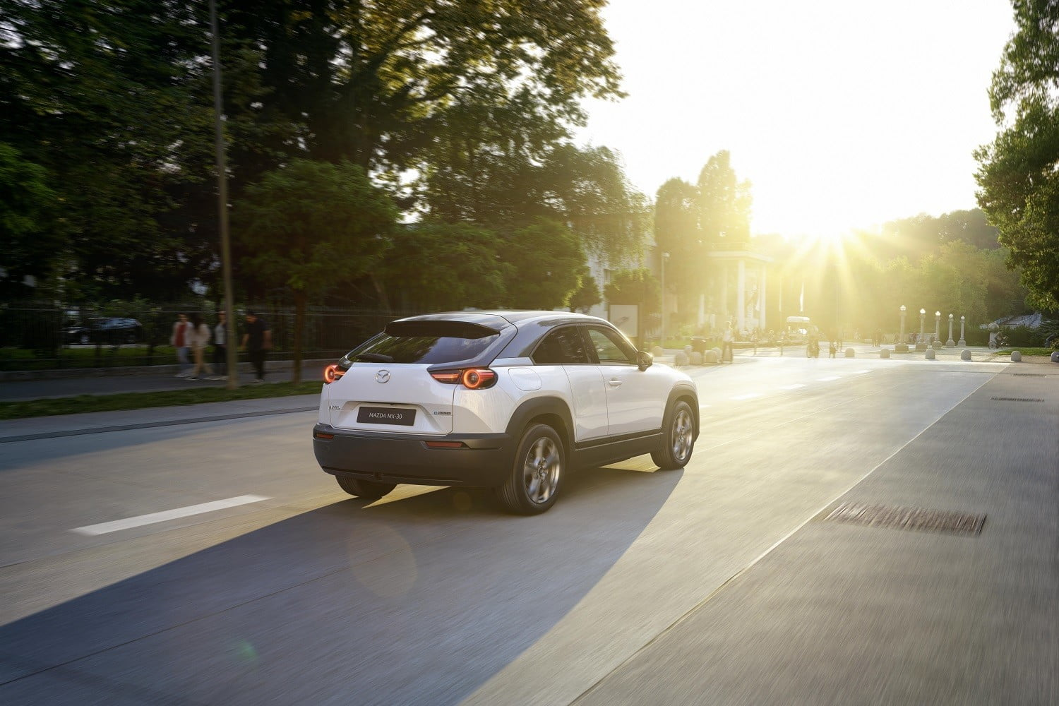 first mazda electric car coming to the 2019 tokyo auto show mx 30 official 16