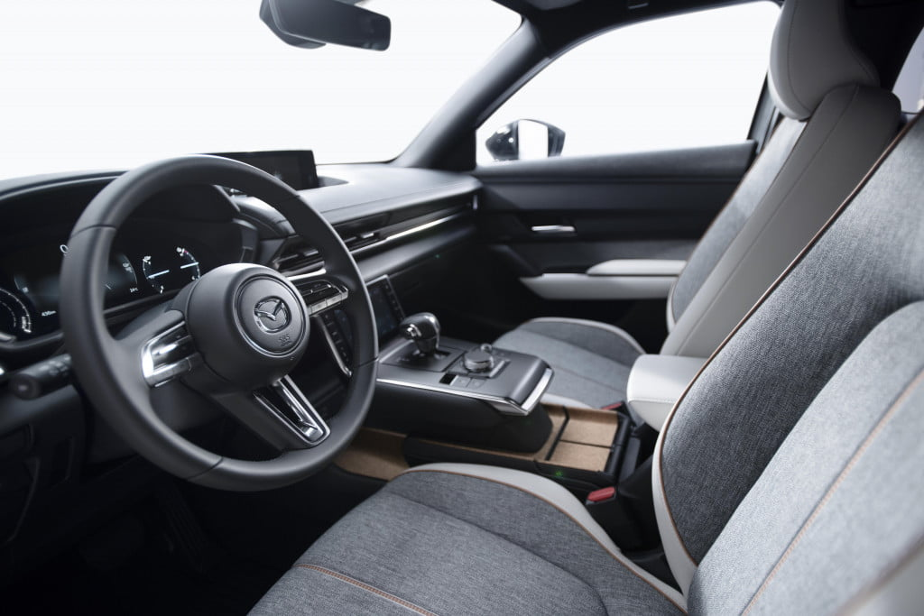 first mazda electric car coming to the 2019 tokyo auto show mx 30 official 8