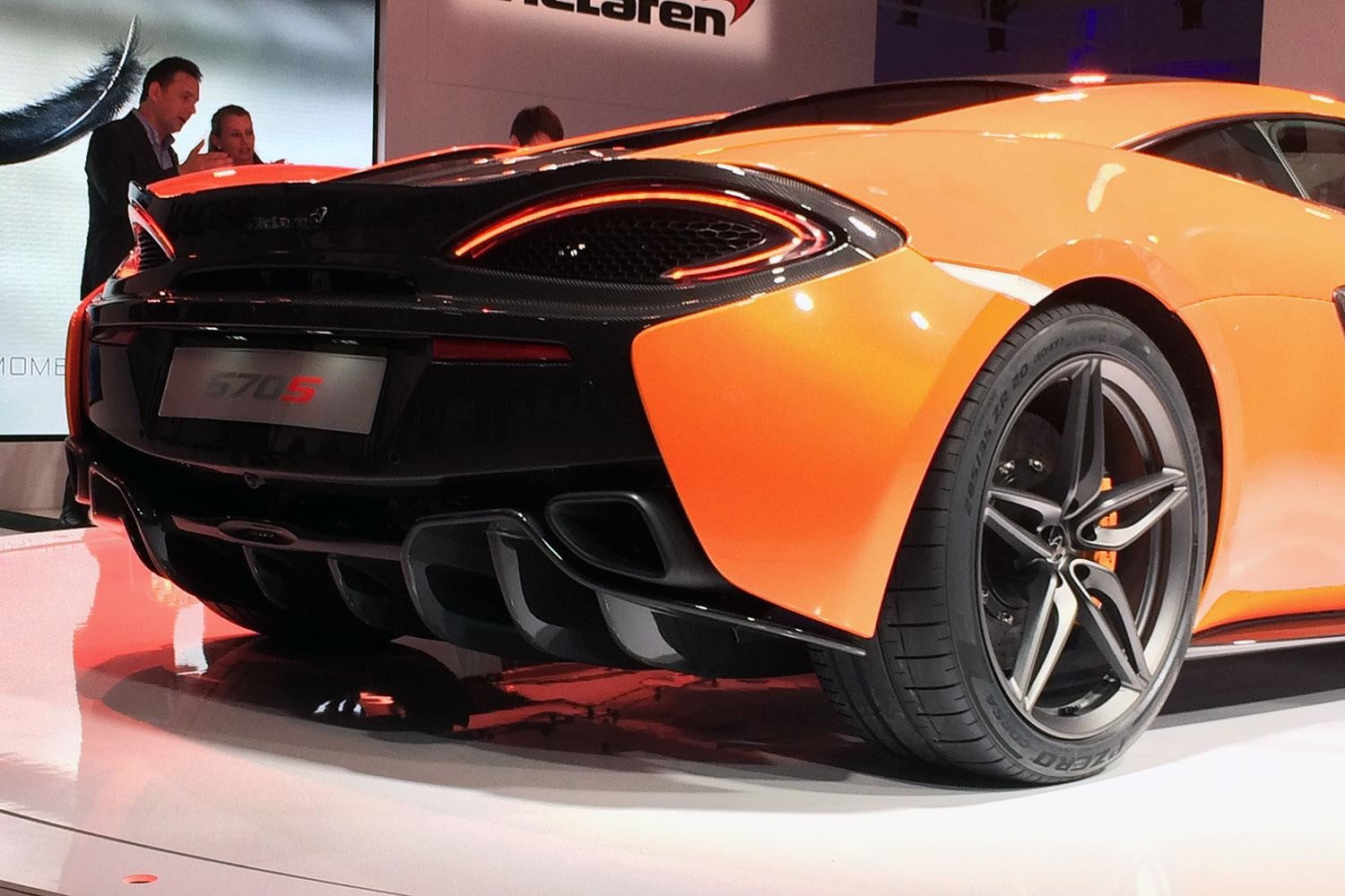 McLaren 570S Reveal back section angle