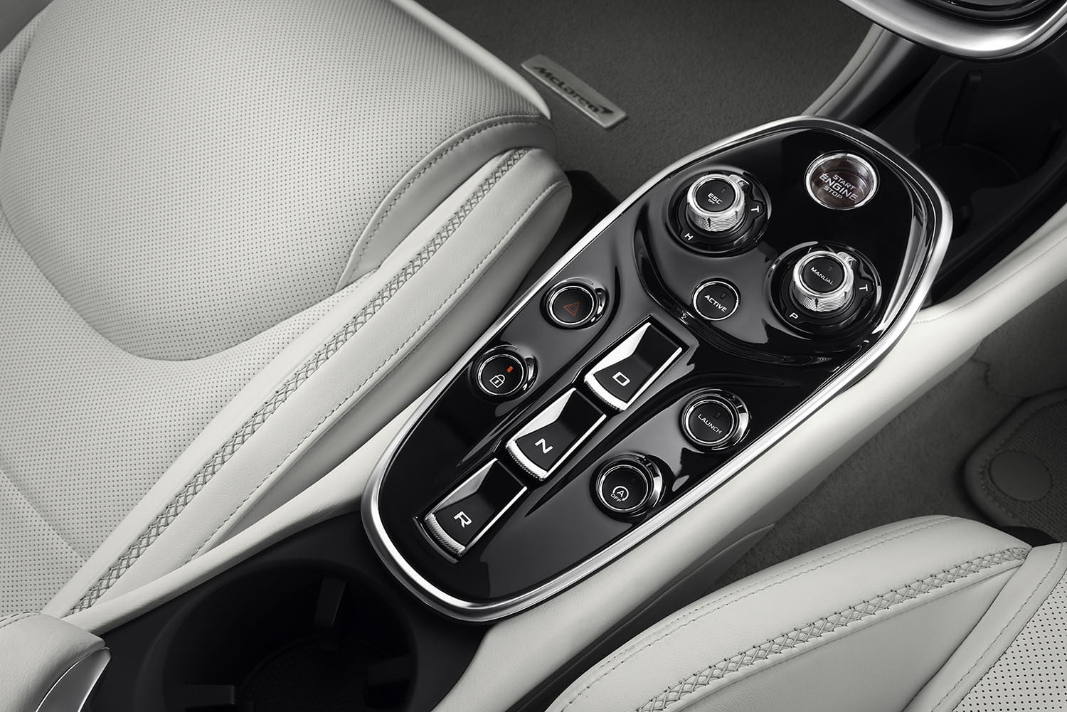 the recently revealed mclaren gt is a road trip ready supercar grand tourer 2019 interior 4