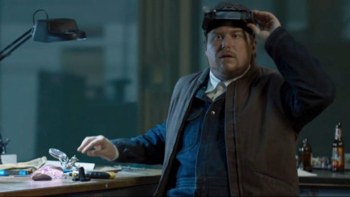 Michael Chernus as Phineas Mason in Spider-Man: Homecoming.