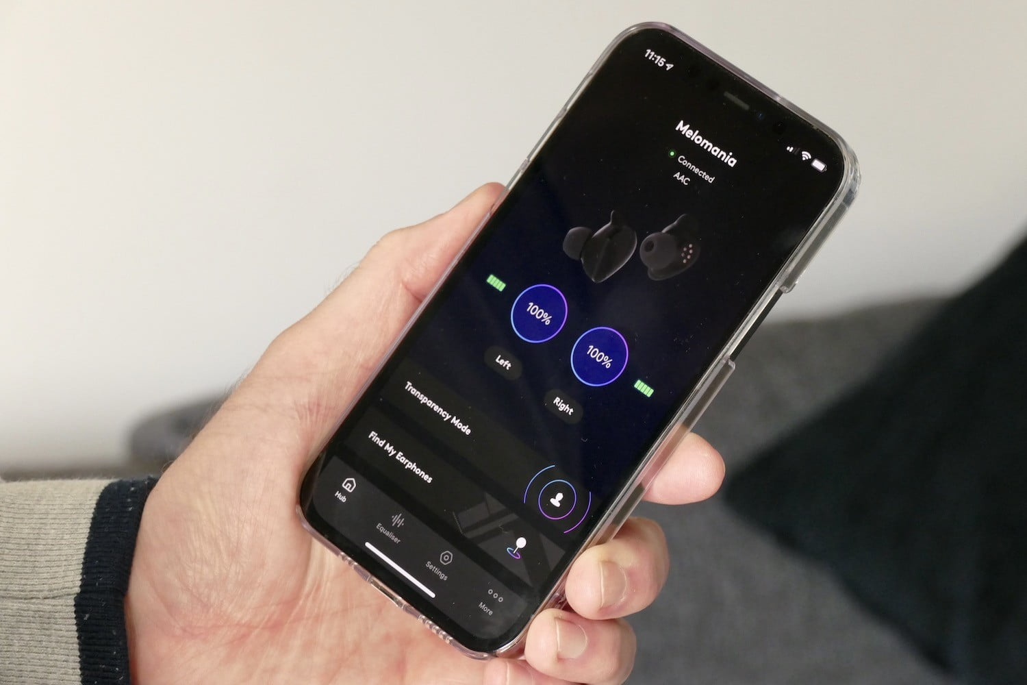 cambridge audio melomania touch review app battery life