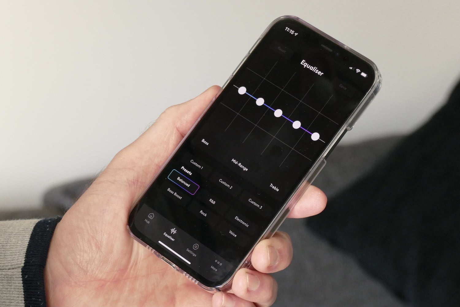cambridge audio melomania touch review app equaliser