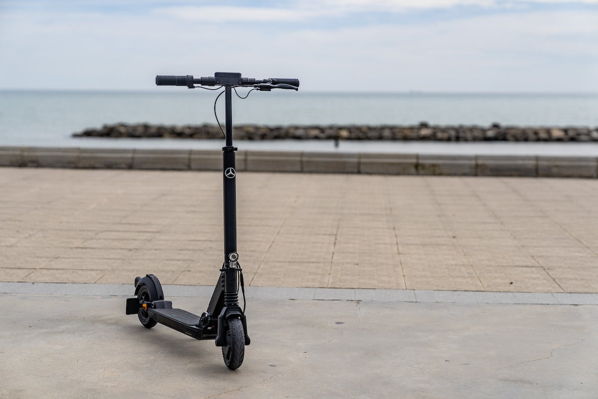 mercedes benzs first e scooter is rugged and foldable merc 3
