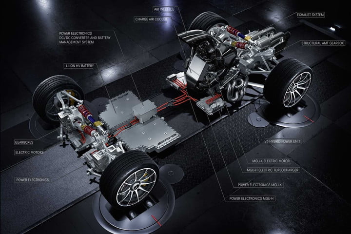 Mercedes-AMG Project One powertrain