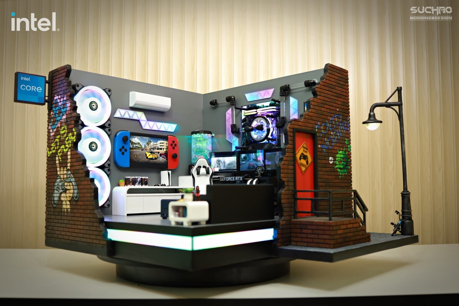 Gaming PC that looks like an office.