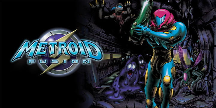 Cover of Metroid: Fusion.