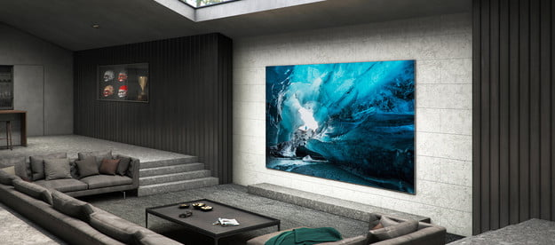 Samsung MicroLED 110 inch 4K HDR TV Lifestyle