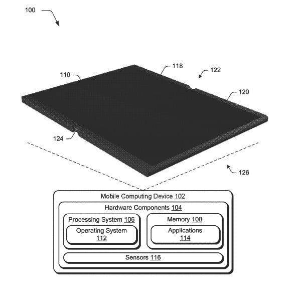 microsoft patents device that morphs from phone into tablet foldable mobile patent 1