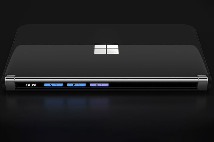 Microsoft Surface Duo 2 closed.