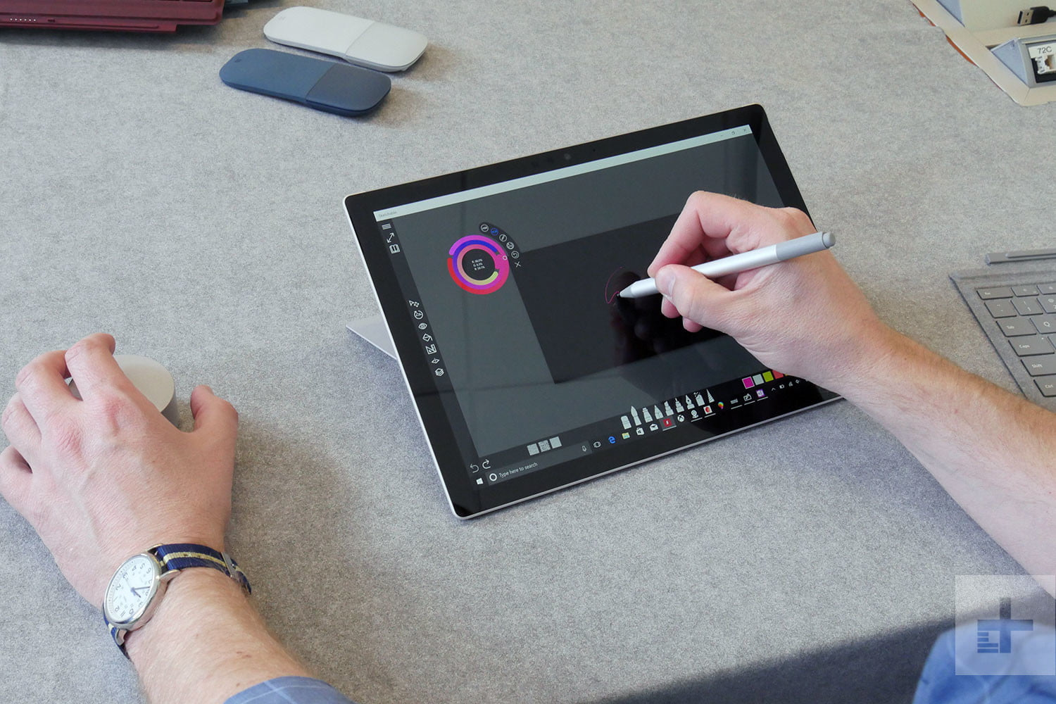 Microsoft Surface Pro and Surface Pen 2017