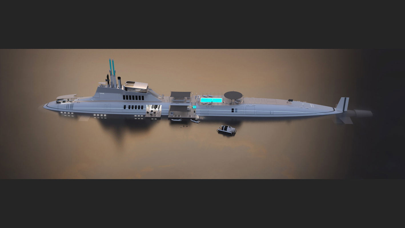 migaloo kokomo ailand is a moveable man made private island submersible superyacht 0012