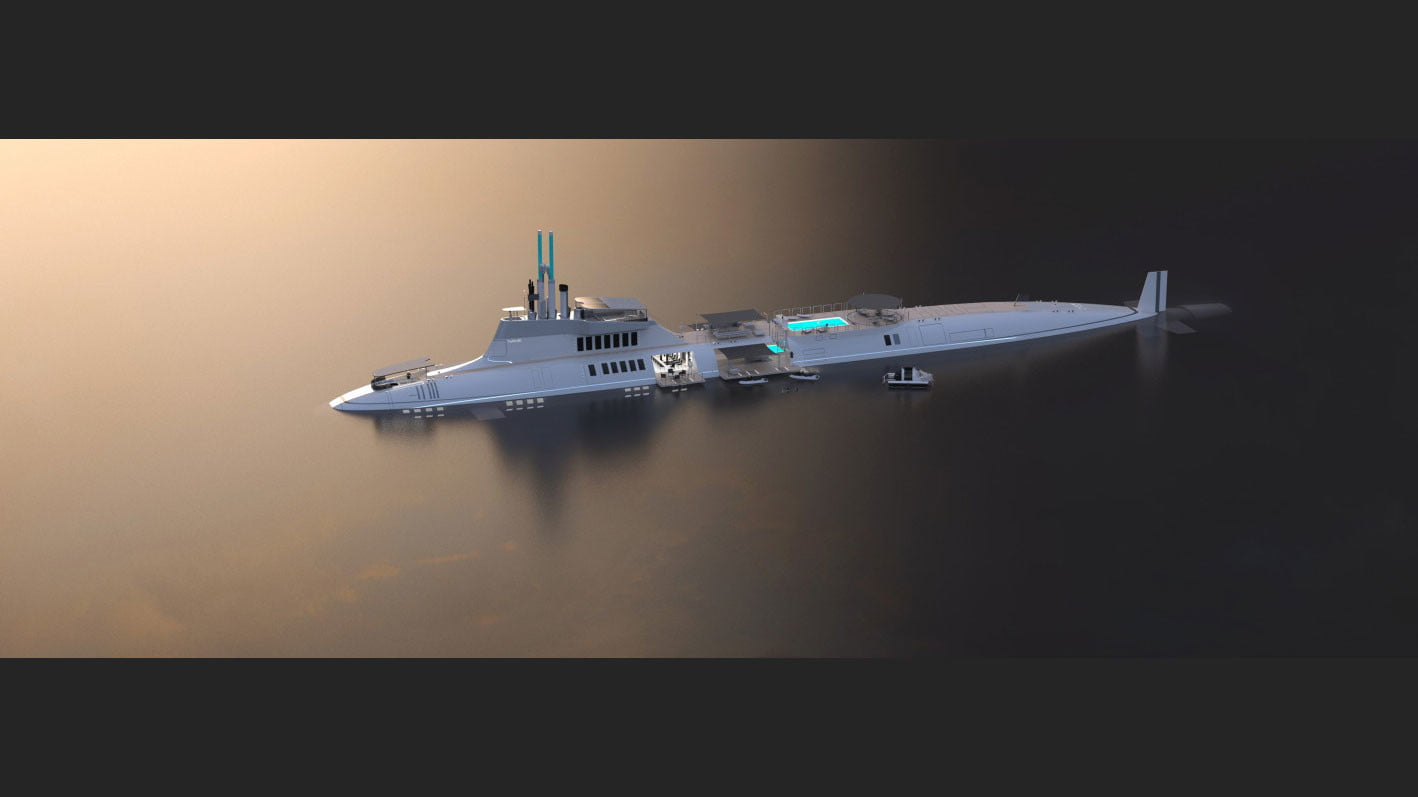 migaloo kokomo ailand is a moveable man made private island submersible superyacht 009