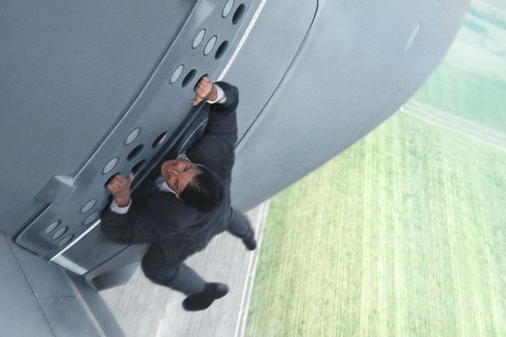 weekend box office mission impossible rogue nation  cruise plane