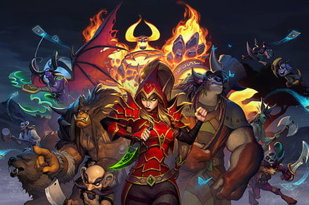 Hearthstone's standout Mercanaries mode is smothered by the main game