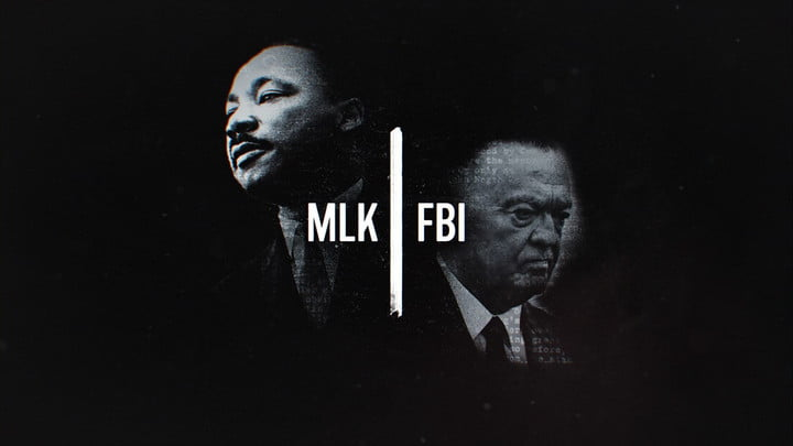 Martin Luther King and J. Edgar Hoover in MLK/FBI