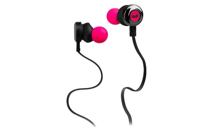monster releases new affordable earbuds clarityhd pink