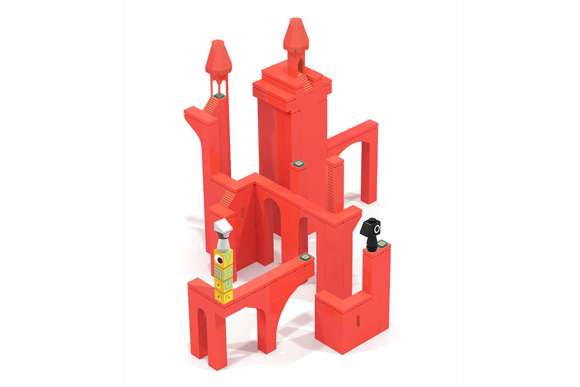 monument valley lego campaign ios puzzle game 3