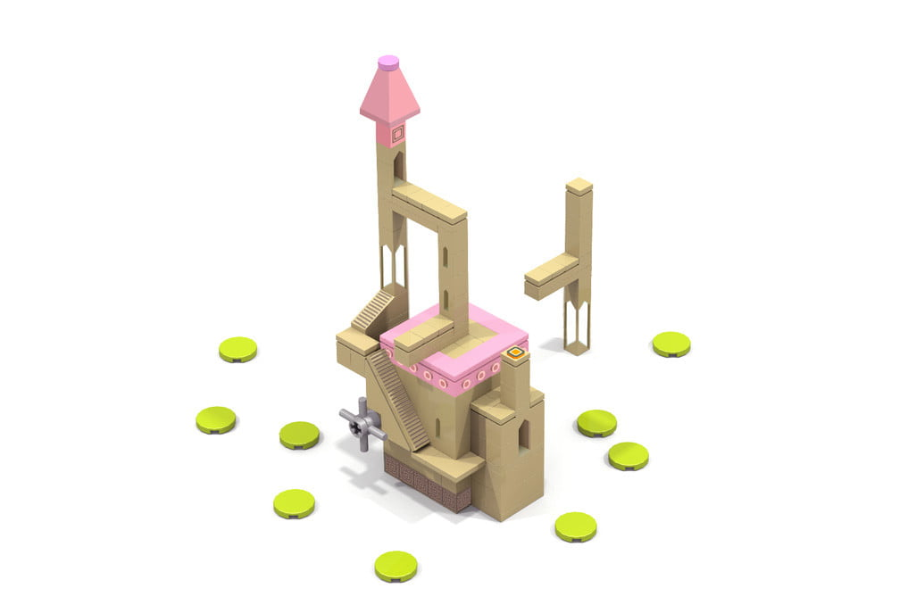 monument valley lego campaign ios puzzle game 4