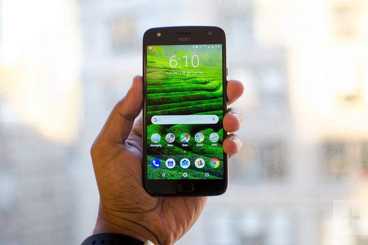 Moto X4 Android One review front window