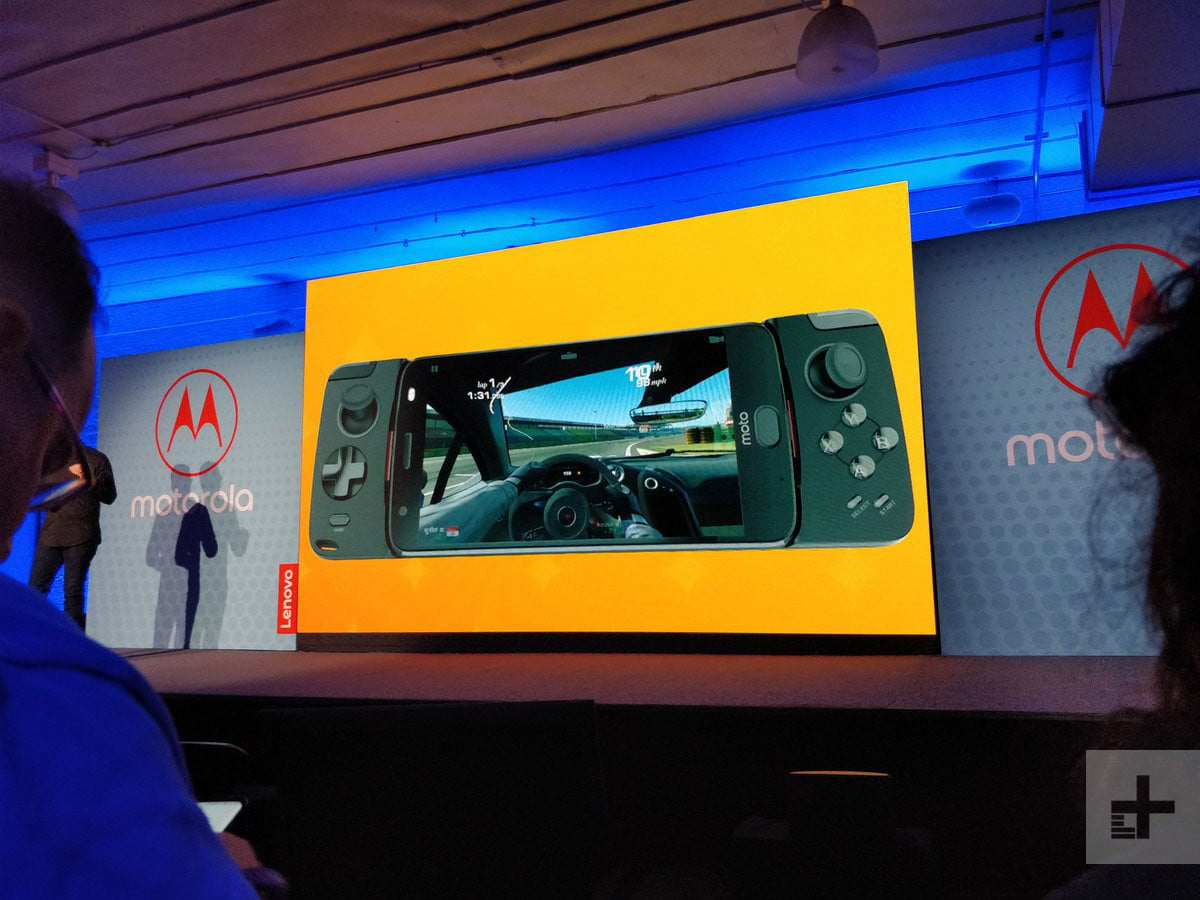 Moto Z2 Force controller