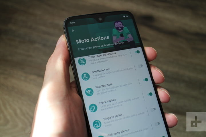 Key settings to change on your Moto G7