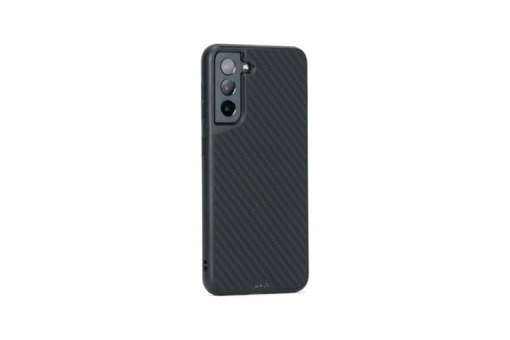 Mous Limitless 3.0 Case for the Samsung Galaxy S21 in black Aramid Fibre.