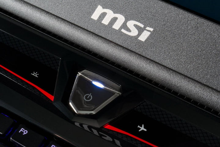 MSI Global GT60 Dominator Pro power button